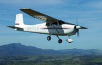 Plane based wildlife viewing