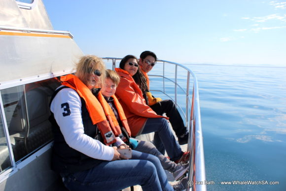 Whale watching south africa boat based Gansbaai boat tours (14)